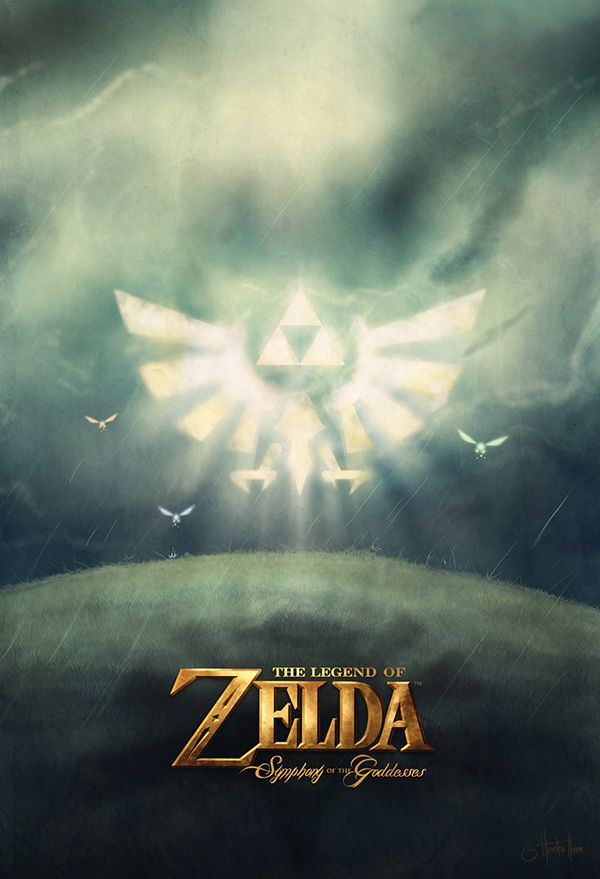 Symphony of the Goddesses Posters by Houston Hanna, via Behance