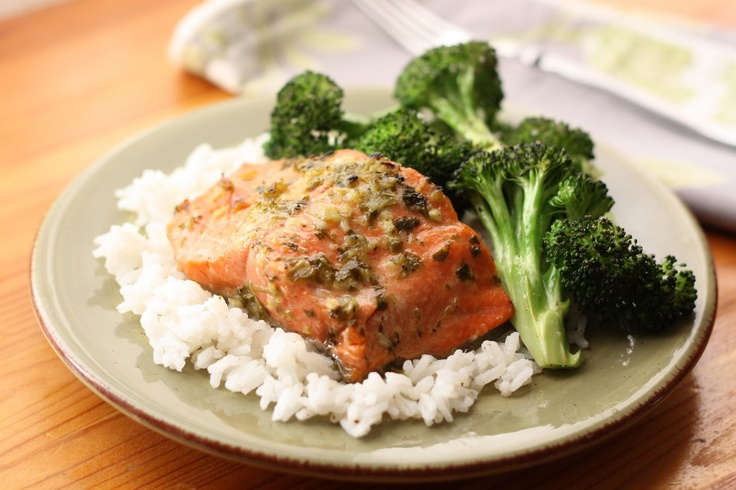 Barefeet In The Kitchen: Mojo Marinated Salmon