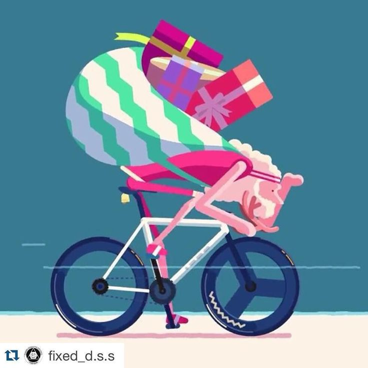 #Repost from @fixed_d.s.s - Merry Christmas - #merrychristmas #bike #bikefashion