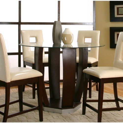 Cramco Emerson 5 Piece Counter Height Dining Set With Vinyl Chairs By  Cramco. $999.99