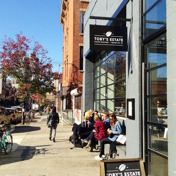 Newyorská kavárna Toby´s Estate už má kromě své pobočky v über-hip čtvrti Williamsburg i dvě na Manhattanu a to už něco znamená!
