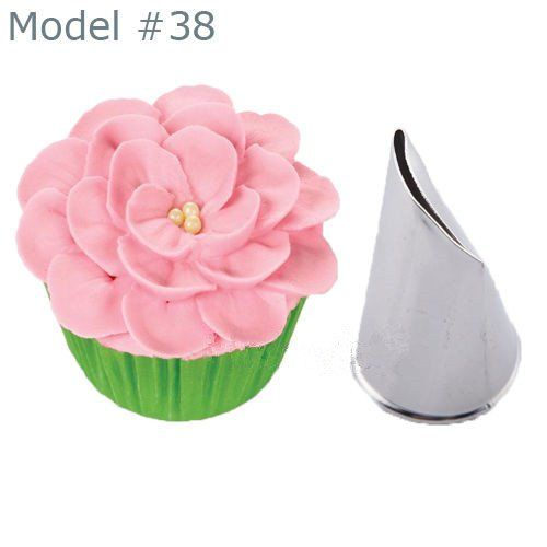 New Flower Petal Icing Piping Nozzle Cake Decorating Pastry Tips Baking Mold no.60 * Don't get left behind, see this great  product : Bakeware