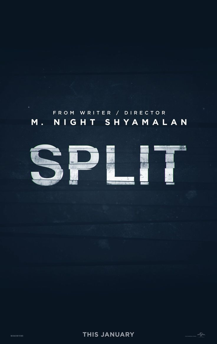 Split - Upcoming Thriller Movie: M. Night Shyamalan (writer/producer/director) look to be making gold in Split (2017), a… #Movie #Thriller