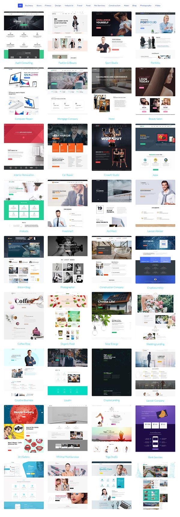Best WordPress Template #business #websitethemes #themes #webtemplate #Startup