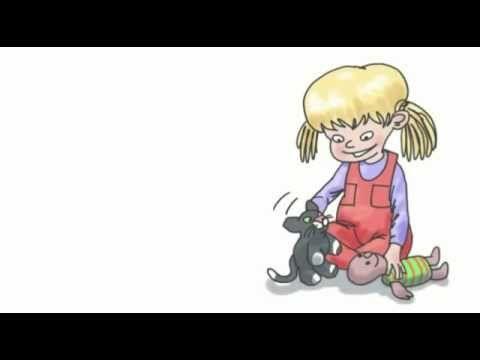 12. Det kommer en katt - ur Små Rim&Ramsor - YouTube