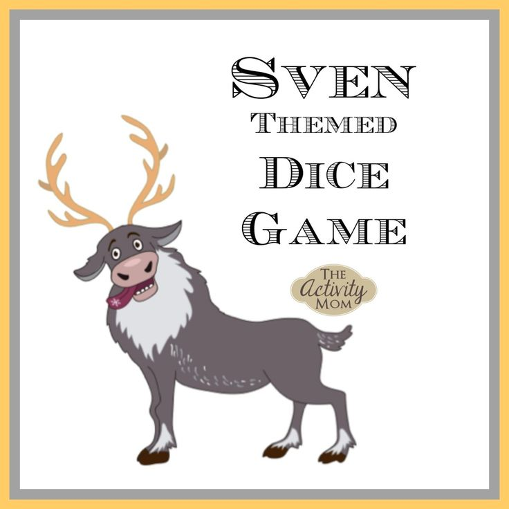 Sven Themed Dice Game