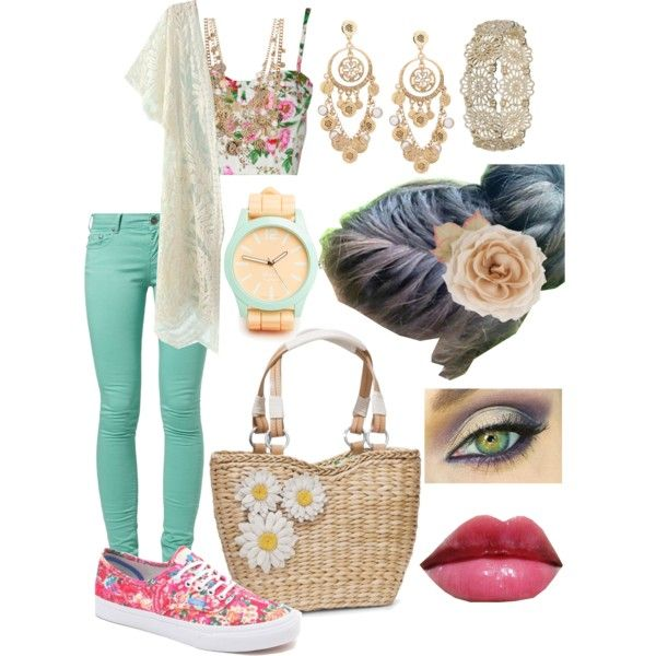 """""""Sweet summer days"""" by timi-v on Polyvore"""