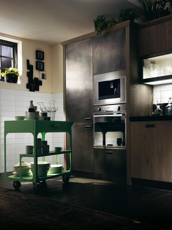 Everything always to hand, everywhere | #Scavolini | #Kitchens