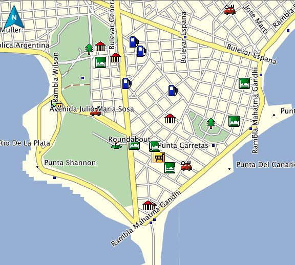 Best Uruguay GPS Map Garmin Images On Pinterest Uruguay Maps - Argentina map garmin