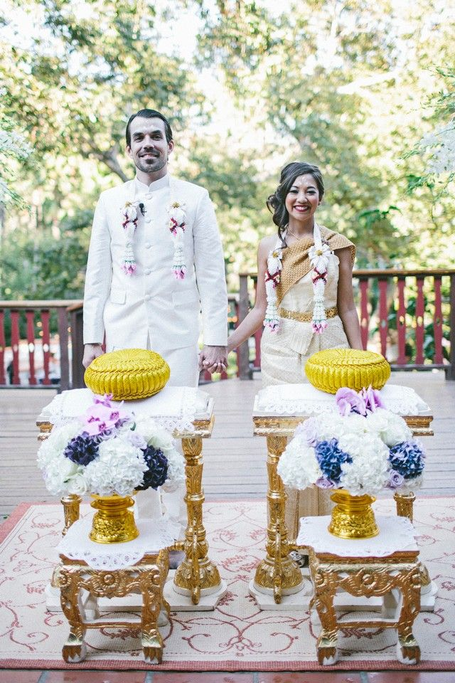 Thai Wedding Water Blessing Photo Credit Alex Rapada Via Flowers By Cina