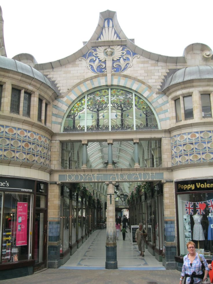 Royal Arcade, Norwich by George Skipper