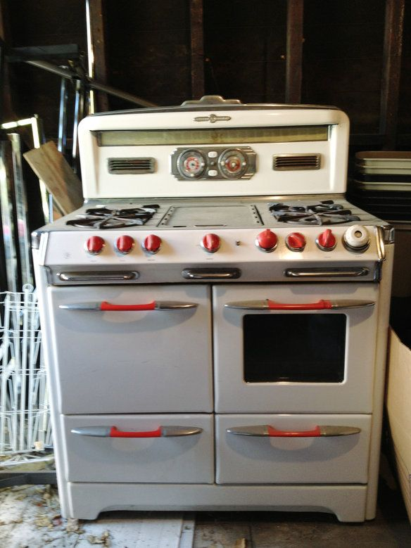 o'keefe and merritt stoves prices | 1950 s o keefe merritt porcelain stove this is a beautiful retro stove ...