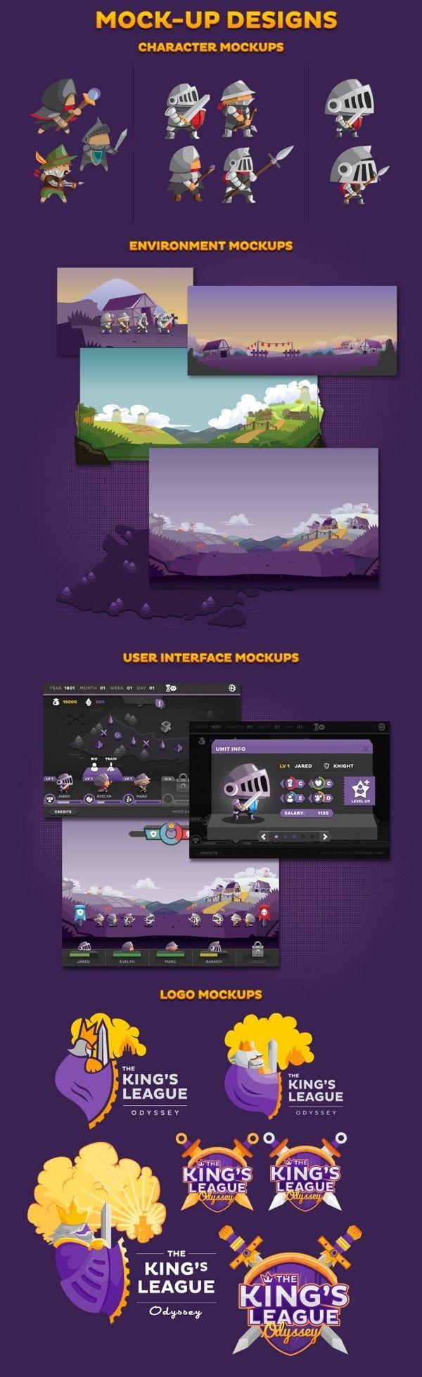 Inspiration Mobile #5 : Interfaces autour des jeux sur mobiles   BlogDuWebdesign