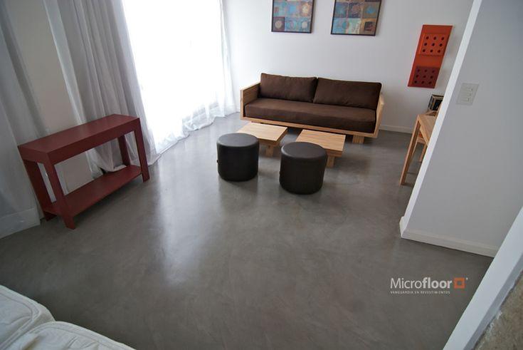 Pisos de cemento alisado micorfloor pisos pinterest - Alisado en casa ...