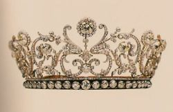 tiara!Vladimir Tiaras, Royal Crowns, Invisible Crowns, Grand Duchess, Queens, Crowns Jewels, Duchess Vladimir, Princesses Crowns, Yellow Diamonds