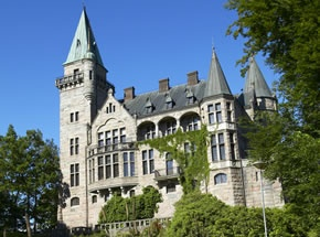 Vaxjo Sweden, my home town. This castle is by the Vaxjo University.