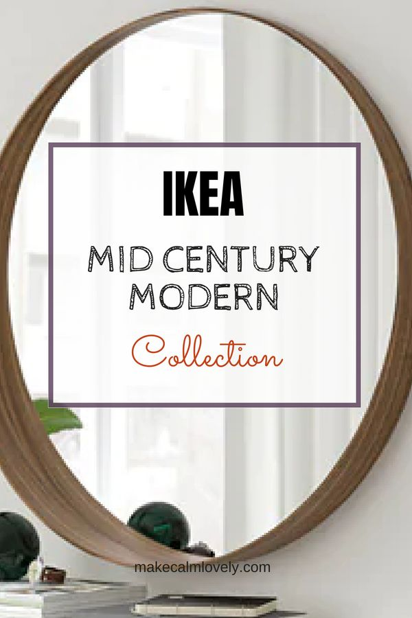 IKEA does Mid-Century Modern! Their new Vintage collection