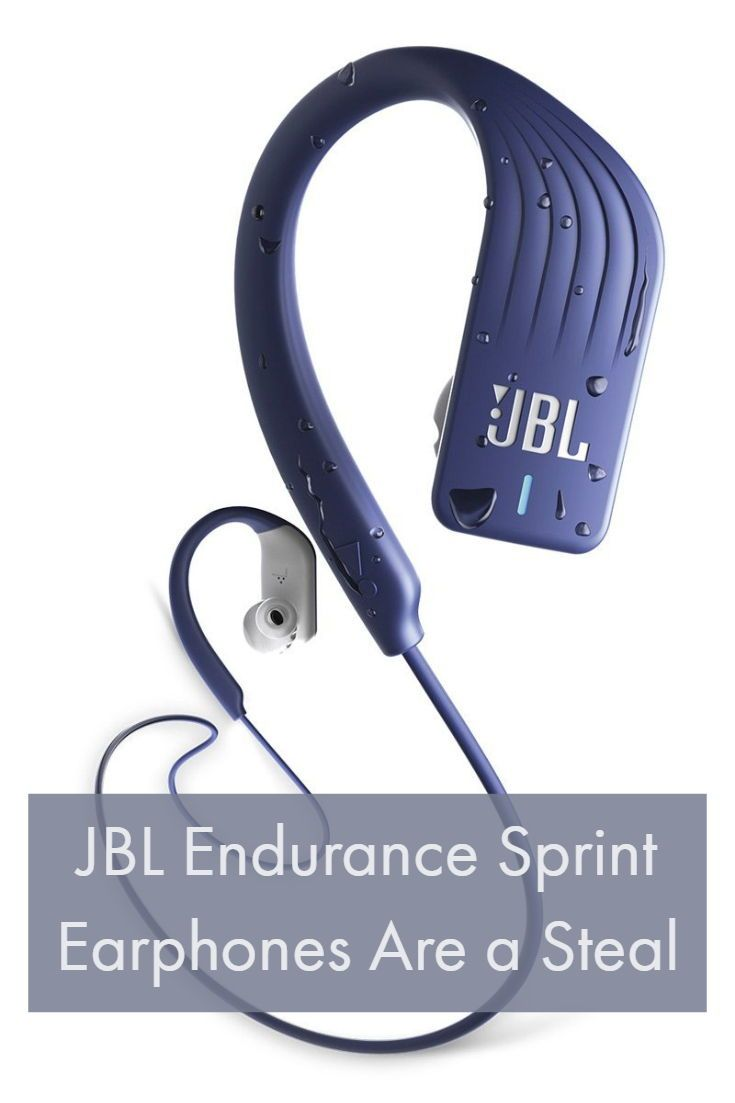 e772ab66cc9 If big bass motivates you when you work out, the waterproof, wireless JBL  Endurance Sprint earphones are a steal for the price. #earbuds #headphones # JBL