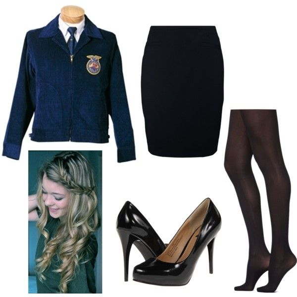 A fashion look from September 2014 featuring zipper pencil skirt, nylon tights and black almond