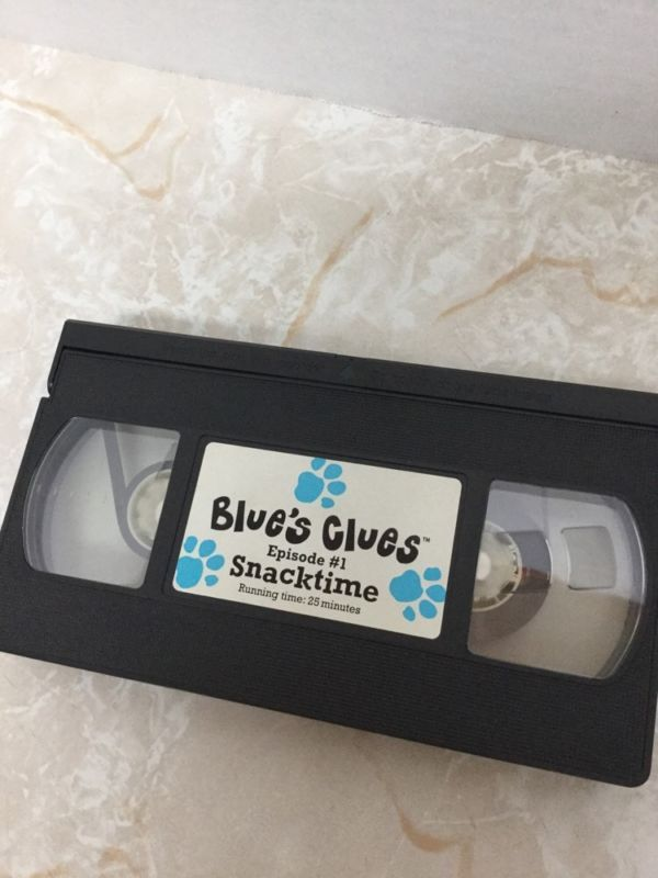 Blue's clues snack time | Video Tape Print or Stickers