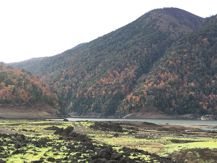 Laguna Verde, Parque Nacional Conguillio - Mayo 2017