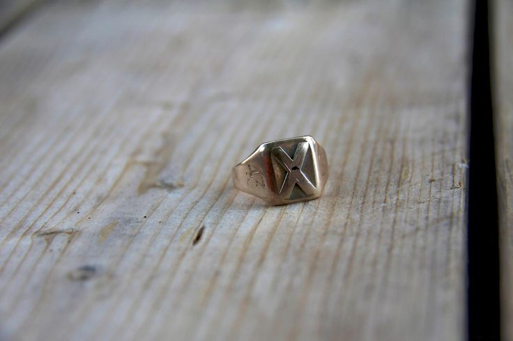 An X-Ring from 1943, the second year they were created. Not something you see everyday!