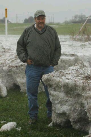 While Iowa was getting hit by tornados and flooding Nebraska was getting hail. 3ft hail drift in Norfolk Nebraska.