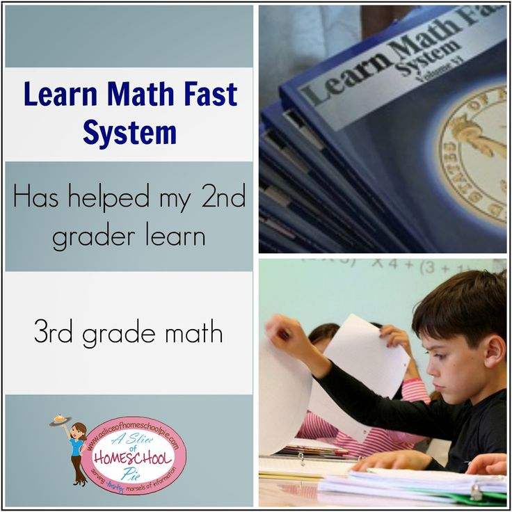 Sample pages | Learn Math Fast System