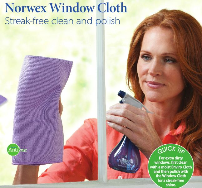 Norwex Cleaning Cloth Glass: Prettie Mommy: Norwex Microfiber Bio