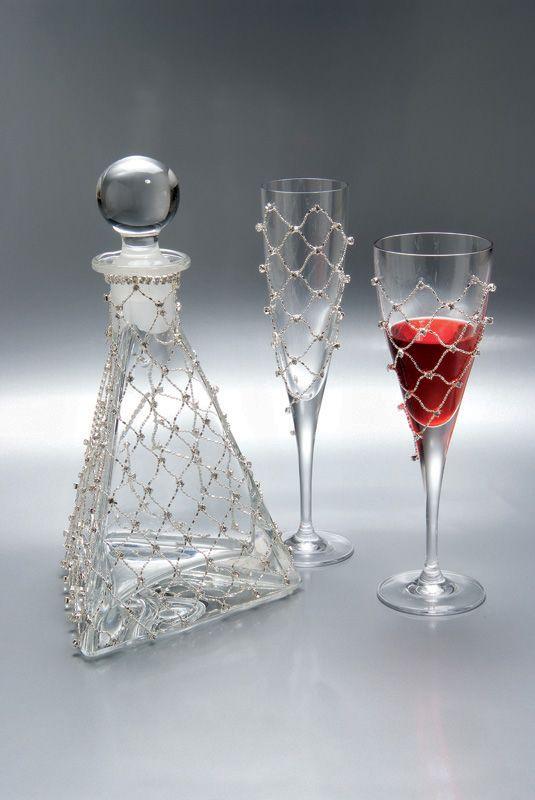 KAΡΑΦΕΣ - ΠΟΤΗΡΙΑ Florens Set - Είδη γάμου & βάπτισης, μπομπονιέρες γάμου | tornaris-rina.gr