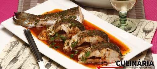 Receita de Truta salmonada grelhada. Descubra como cozinhar Truta salmonada grelhada de maneira prática e deliciosa com a Teleculinária!