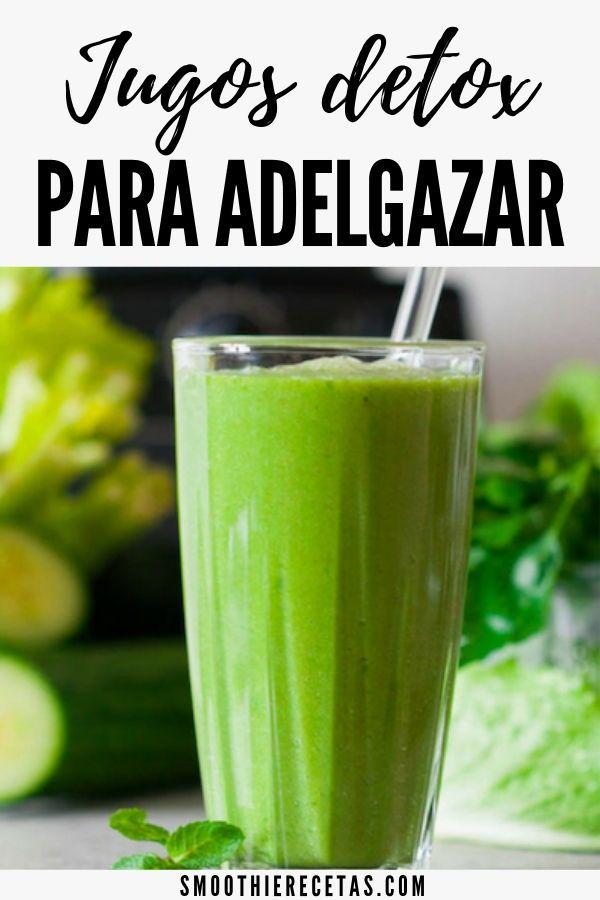 Recetas jugos frutas naturales para adelgazar