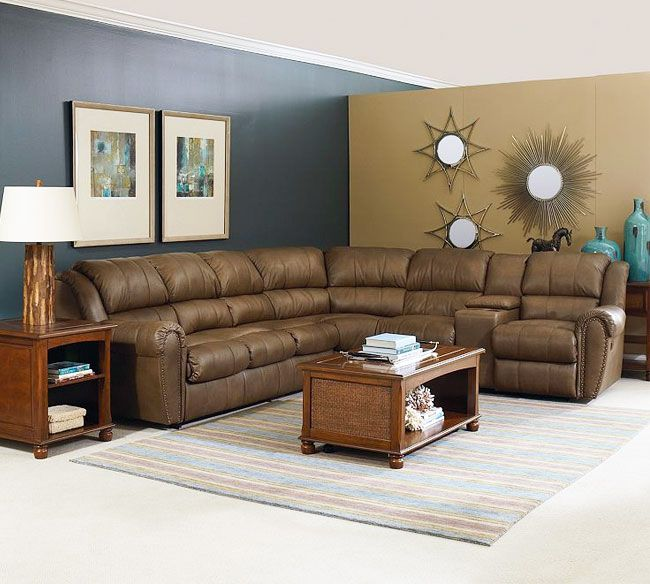 Lane Summerlin 214 Reclining Sectional Customize Layouts Fabrics Colors Made In America : lane megan sectional - Sectionals, Sofas & Couches