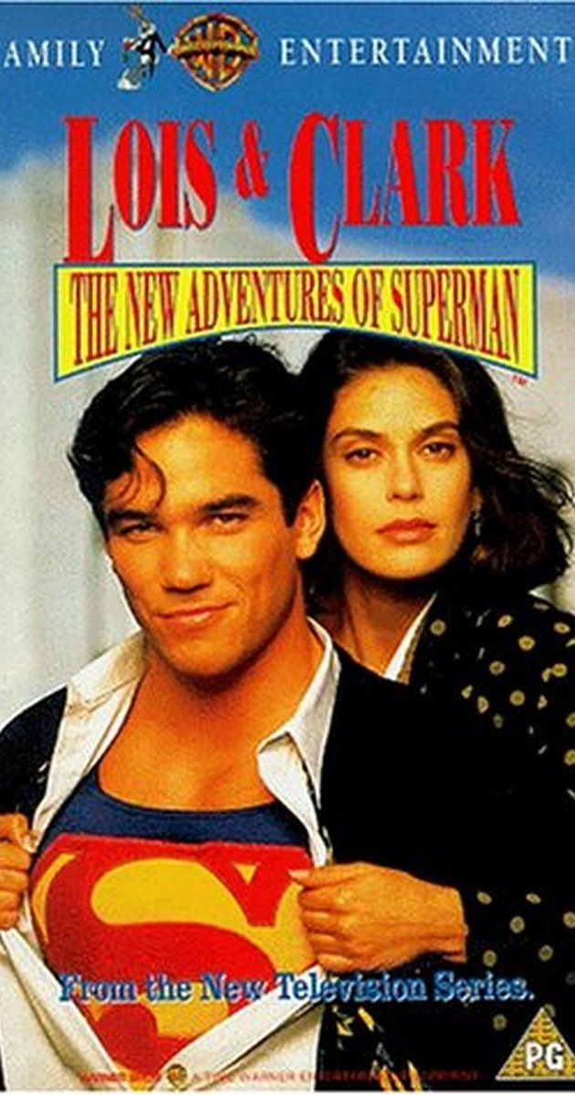 Lois & Clark: The New Adventures of Superman (1993–1997)  - Created by Deborah Joy LeVine, Joe Shuster, Jerry Siegel.  With Dean Cain, Teri Hatcher, Lane Smith, Eddie Jones. In addition to fighting evil, Superman has a burning romance with Lois Lane in both his identities.