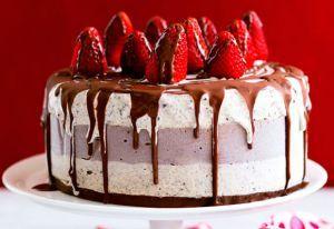 Luscious Christmas food - mylusciouslife.com - celebration-cake.jpg