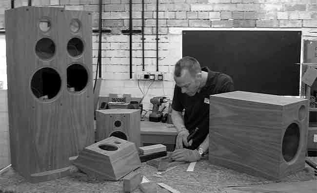 loudspeaker reveneer veneer re-veneer speakers BLOK