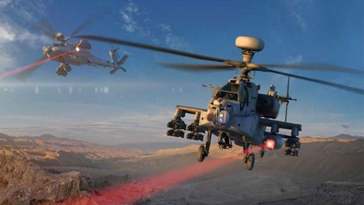 Ελικόπτερα με laser οπλισμό από τις ΗΠΑ (Βίντεο)
