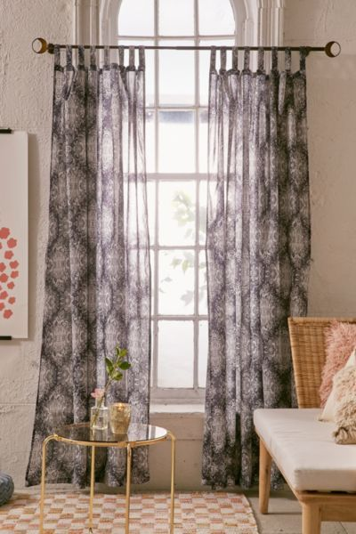 Pavarti Paisley Curtain | Urban Outfitters