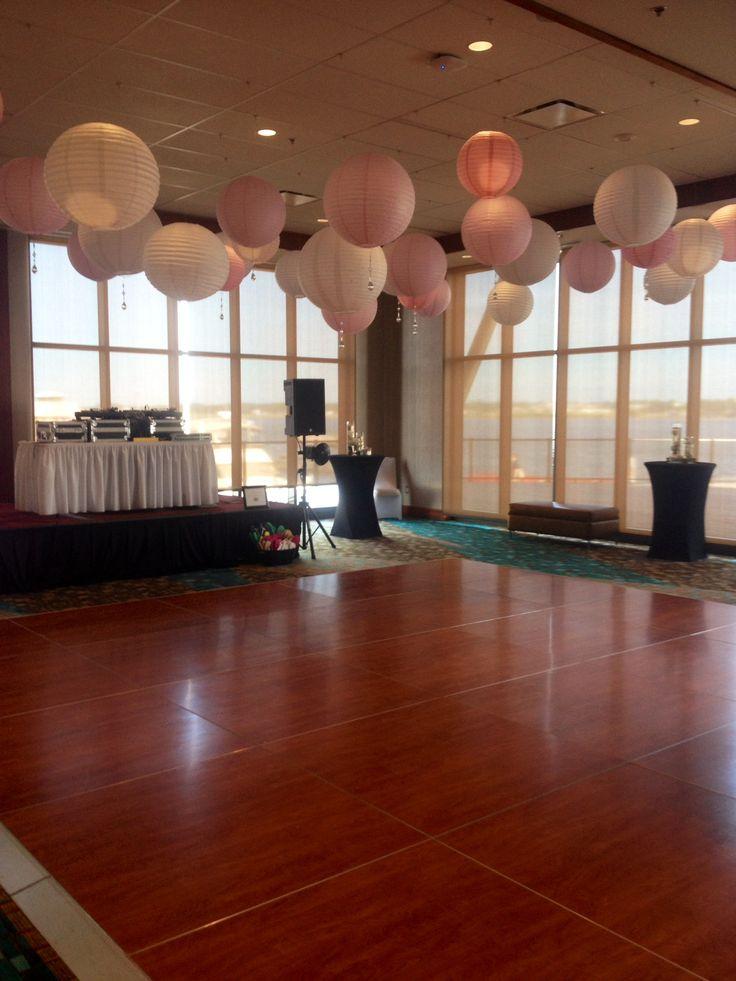 Dance Floor in the Harbourview Room.