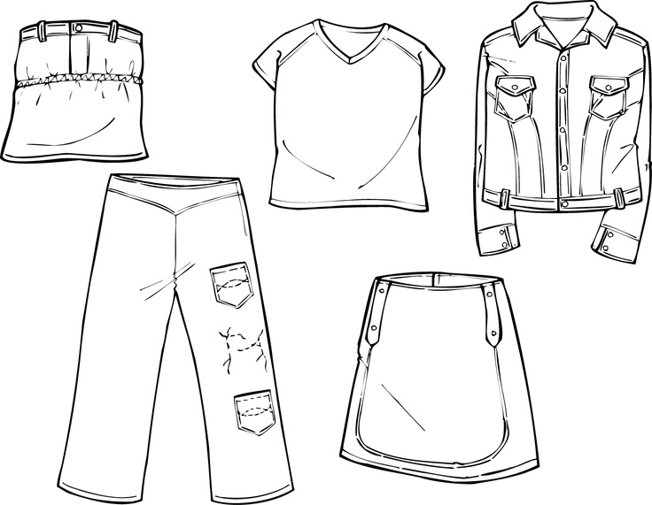 69 best fashion croquis templates illustrator images on for Clothing templates for illustrator