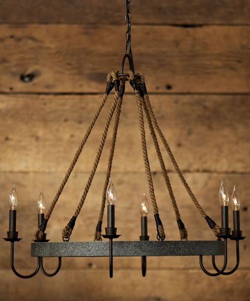 would look nice in LR http://www.potterybarn.com/products/wine-barrel-metal-hoop-round-6-light-chandelier/Wine Barrel Hoop Chandelier