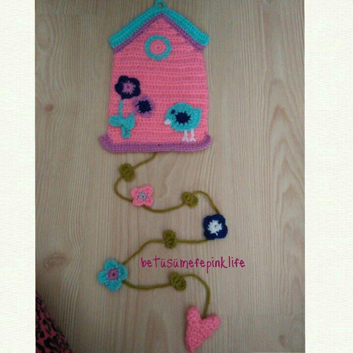 #betüşce minik ev kuş evim