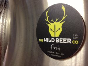 Brett at Wild Beer Co says - We have a passion for flavour and a lust for hops — this frisky, fragrant pale ale is the result. Whilst consistency is (rightly) the benchmark of most beers, we've gone Wild with Fresh and thrown away the rulebook. Every six months we source some of the most exciting hops from both the northern and southern hemispheres, which means two hop harvests and two excitingly different hop profiles.