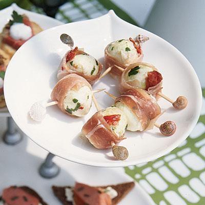 Prosciutto-wrapped Mozzarella | Coastalliving.com