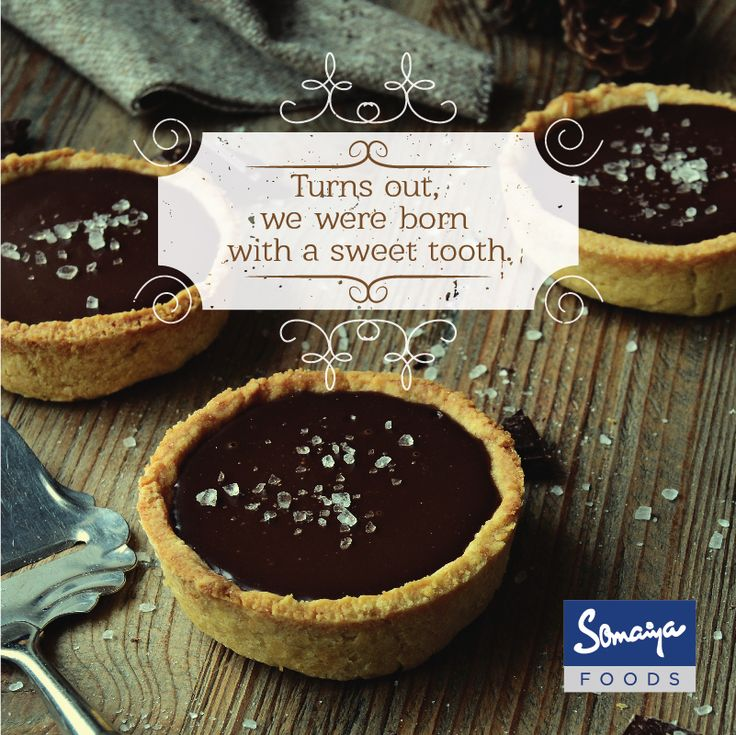 #Didyouknow that sweetness is the only taste that human beings are born craving? Wishing you a weekend filled with sugar, spice and all things nice.