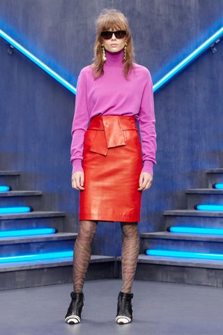 Balcengia pre-fall - pink and red 4EVA