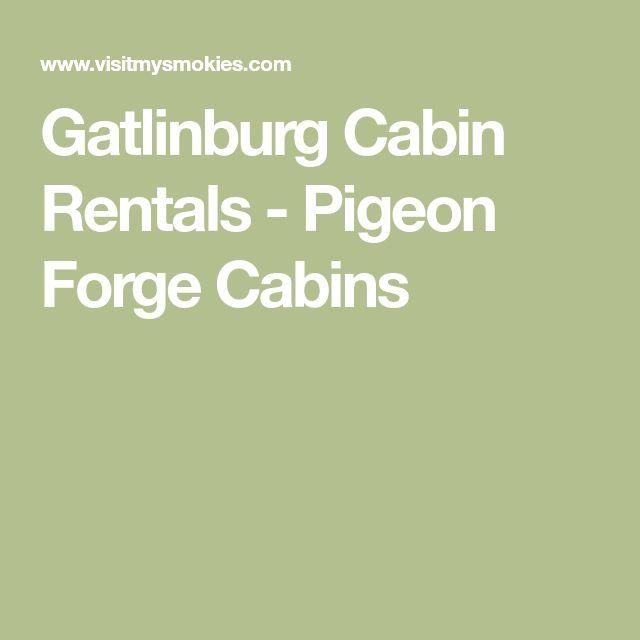Gatlinburg Cabin Rentals - Pigeon Forge Cabins