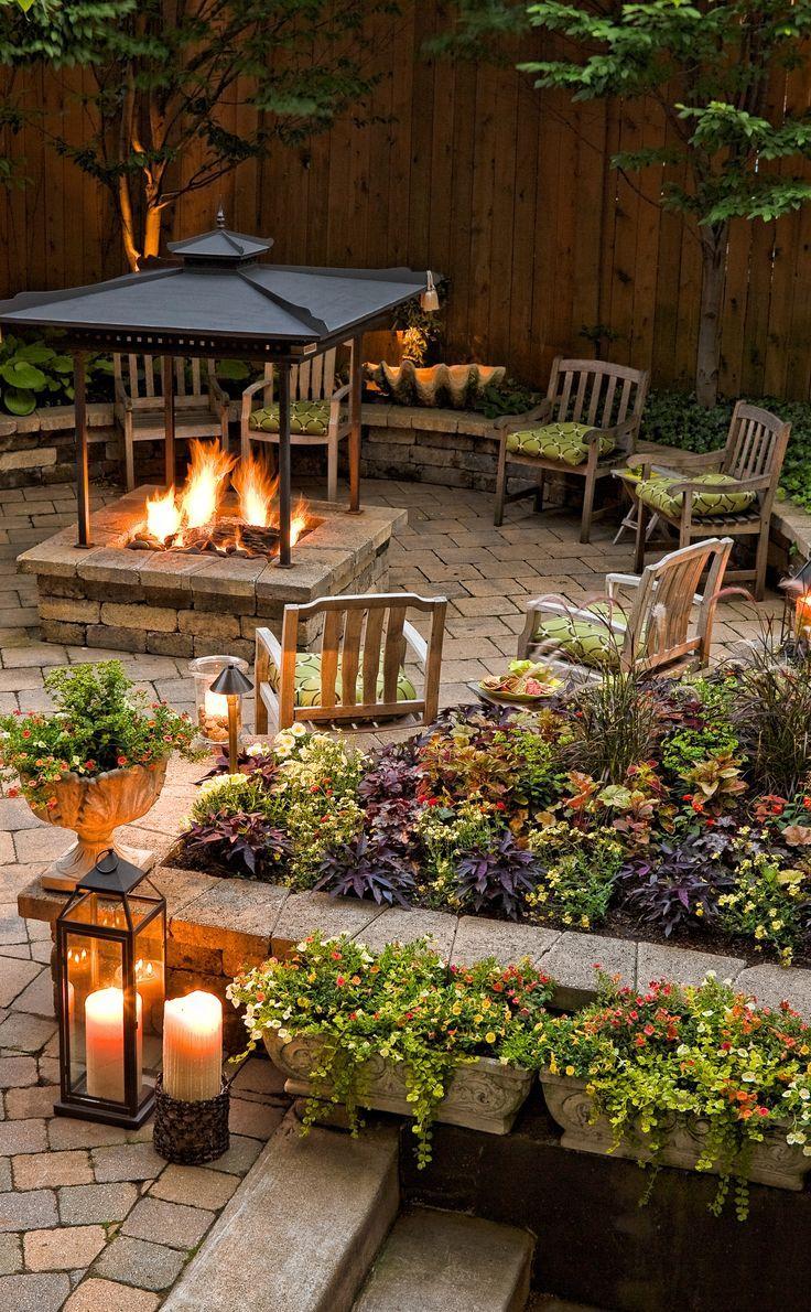 97 best Fire Pit Ideas images on Pinterest   Decks, Gardening and ...