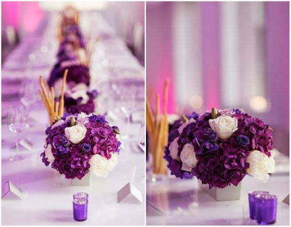 Feest styling | Bruiloft of feest in Radiant Orchid thema • Stijlvol Styling •