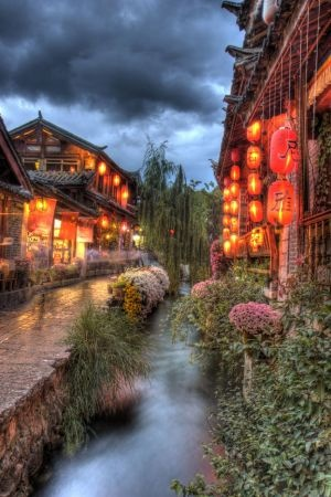 Lijiang, China - amazing world heritage city...like stepping back in time